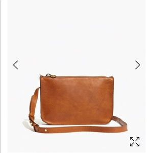 Madewell The Simple Crossbody purse brown leather